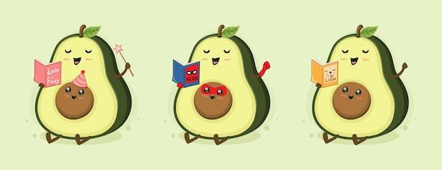 I genitori di avocado dei cartoni animati raccontano storie