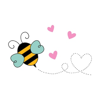 Cartoon ape san valentino illustrazione vettoriale