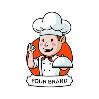 Illustrazione di logo del cuoco unico del fumetto
