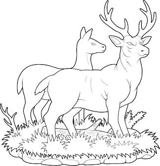 Cervo del fumetto
