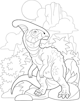 Dinosauro del fumetto