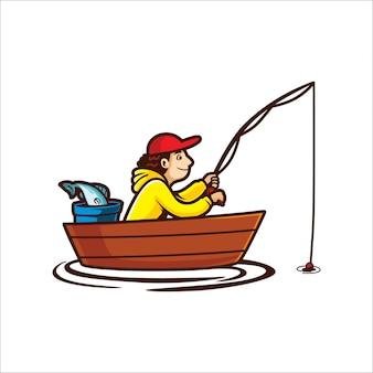 Tempo di pesca dei cartoni animati