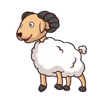 Illustrazione del fumetto pecora
