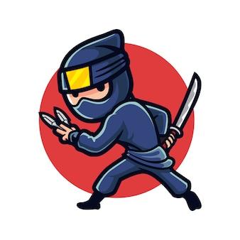 Cartoon ninja night