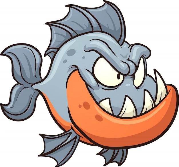 Piranha dei cartoni animati