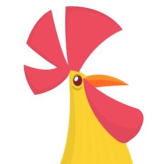 Gallo dei cartoni animati
