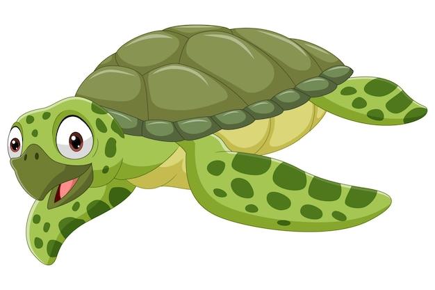Tartaruga di mare del fumetto