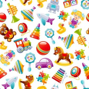 Illustrazione del modello di giocattoli del fumetto