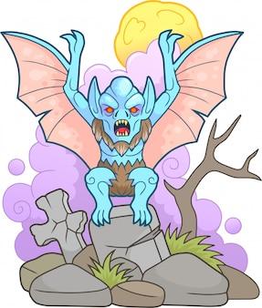 Vampiro di cartone animato