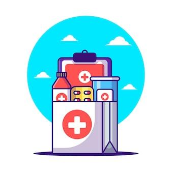 Cartoni shopping bag e droghe