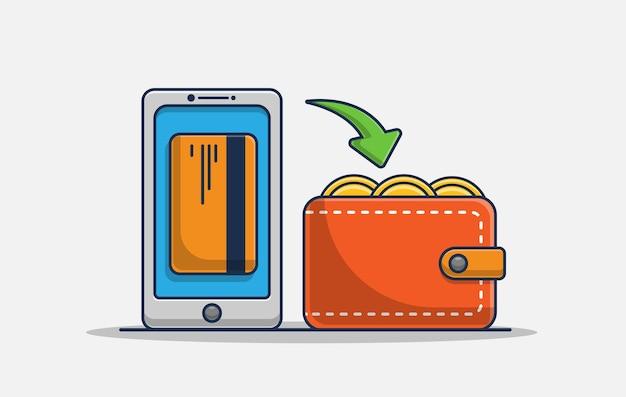 Illustrazione dell'icona di rimborso