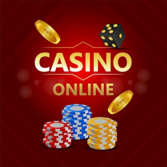 Gioco d'azzardo del casinò con illustrazione
