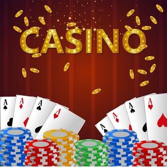 Sfondo del gioco d'azzardo online del casinò
