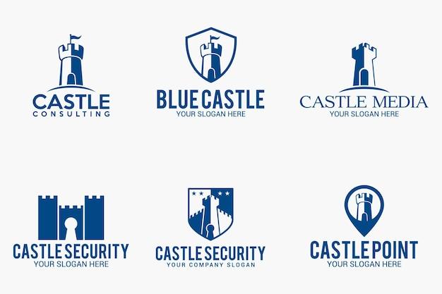 Design del logo del castello