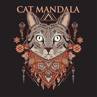 Mandala di gatto