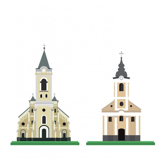 Vettore di chiesa cattolica