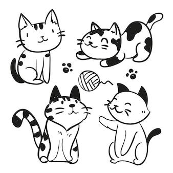 Gatti sketch carattere