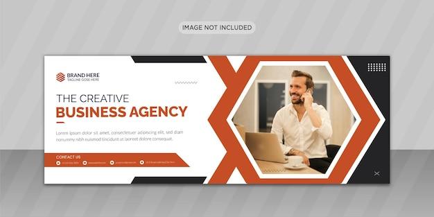 Cbusiness facebook copertina foto design o web banner design