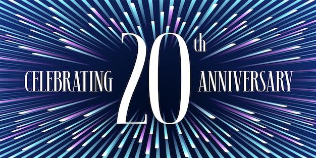 Celebrando 20 anni di anniversario