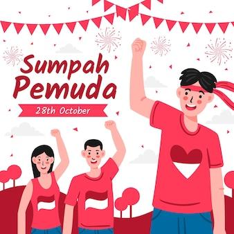 Celebrazione della sumpah pemuda