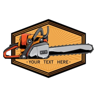 Logo della motosega