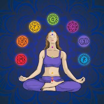 Concetto di chakra