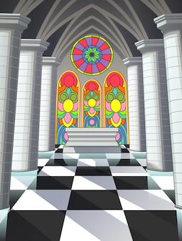 Nella cappella