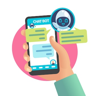 Chat bot in chat con l'uomo