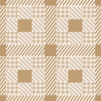 Controlla il modello senza cuciture di tweed alla moda per la carta da parati e gli sfondi di stampe tessili di moda