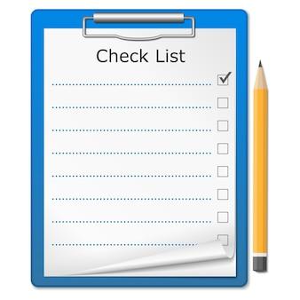 Lista di controllo