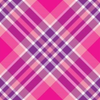 Controllare il motivo scozzese senza soluzione di continuità. trama del tessuto scozzese. sfondo quadrato a righe. disegno tessile vettoriale.