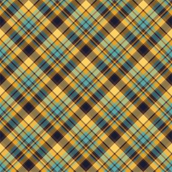 Controllare il motivo senza cuciture plaid. sfondo vettoriale di ornamento tessile. design in tessuto piatto. tartan.