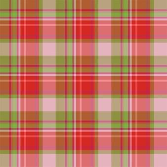 Controllare il motivo scozzese senza cuciture. sfondo vettoriale di ornamento tessile. design in tessuto piatto. tartan.