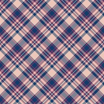 Controllare il motivo scozzese senza cuciture. sfondo vettoriale di ornamento tessile. design in tessuto piatto.