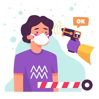 Controllo della temperatura corporea nelle aree pubbliche