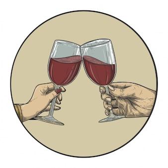 Cin cin di vino
