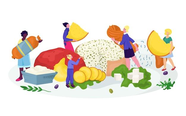 Illustrazione di formaggio