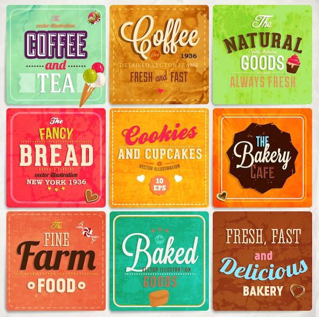 Prodotti cuoco qualità etichetta ornamento
