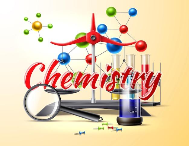 Simboli di studio di chimica