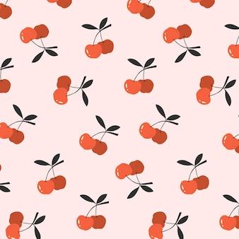 Fondo senza cuciture della ciliegia