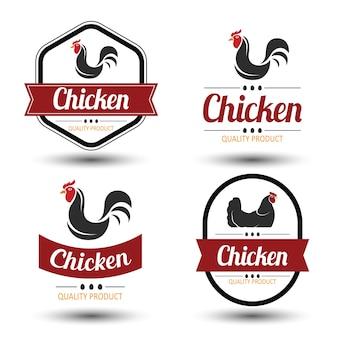 Etichetta di pollo