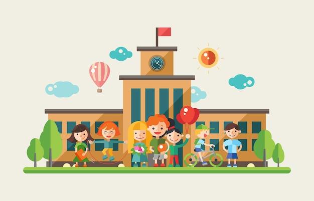 Attività per bambini a scuola - appartamento moderno