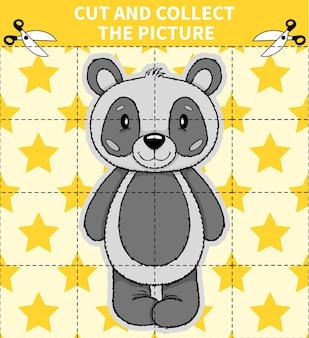 Puzzle di gioco di animali da tavolo per bambini per bambini in età prescolare