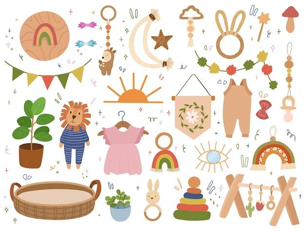 Elementi bohémien dei bambini