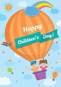 Tempio di ballons del giorno dei bambini