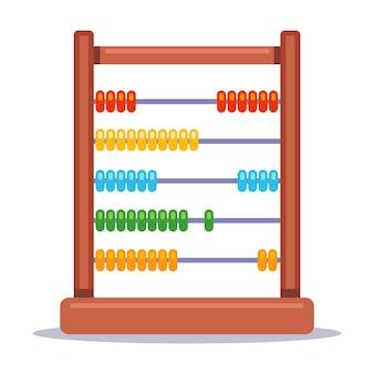 Abaco gioco per bambini per l'insegnamento della matematica