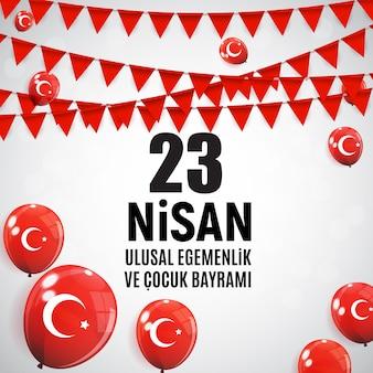 Giorno dei bambini turco speak, cumhuriyet bayrami.