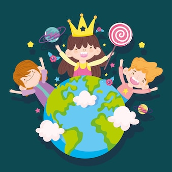 Bambini e mondo