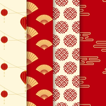 Sfondo cinese pattern design