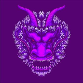 Opera d'arte drago cinese